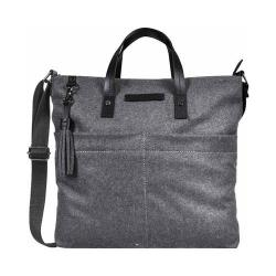 Women's Sherpani Faith Ethos Wool Satchel Slate