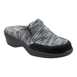 Women's SoftWalk Alcon Clog Black/Grey Textile