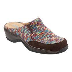Women's SoftWalk Alcon Clog Bright Multi Textile