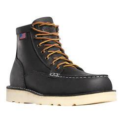 Men's Danner Bull Run Moc Toe 6in Cristy Steel Toe Boot Black Oiled Full Grain Leather (More options available)