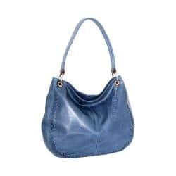 Women's Nino Bossi Tessa Leather Hobo Bag Denim|https://ak1.ostkcdn.com/images/products/192/326/P23252155.jpg?impolicy=medium