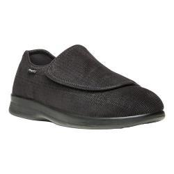 Men's Propet Cush N Foot Black Corduroy/Neoprene
