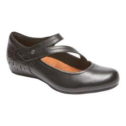 Women's Rockport Cobb Hill Sharleen Mary Jane Black Leather