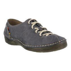 Women's Spring Step Carhop Blue Leather