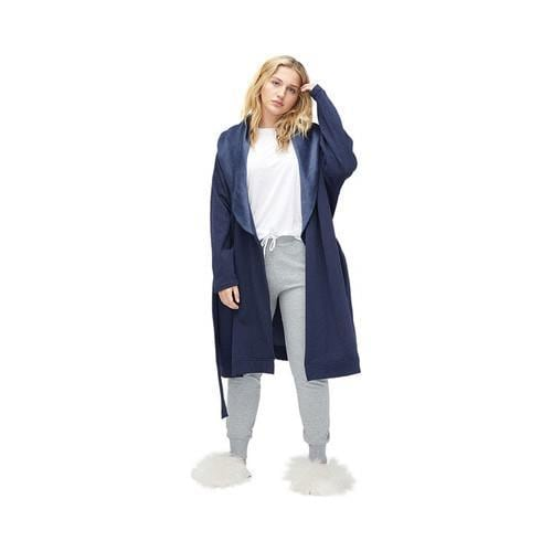 Shop Women s UGG Blanche Plus Robe Navy Heather - Ships To Canada ... 66a71f658