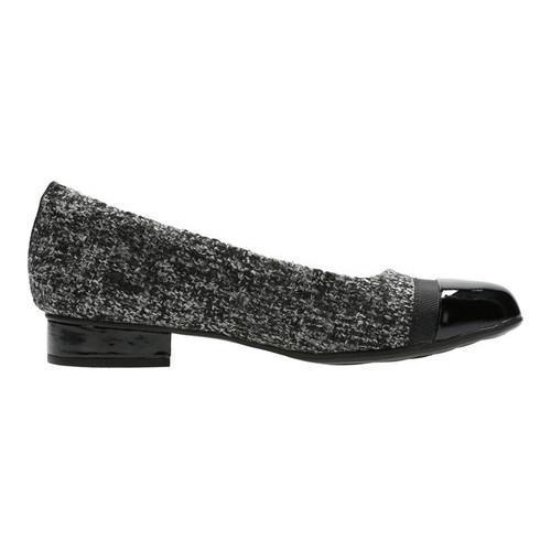 Women's Clarks Keesha Rosa Slip-On Grey Tweed Combination