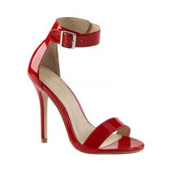 Women's Pleaser Amuse 10 Red Patent