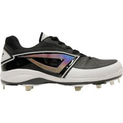 Men's 3N2 Lo-Pro Baseball Cleat Black Patent Leather/Nubuck (More options available)