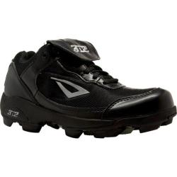 Children's 3N2 Rookie Elite Baseball Cleat Black Synthtic Leather/Mesh