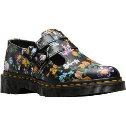 Women's Dr. Martens 8065 Double Strap Mary Jane DML Black Darcy Floral Backhand Full Grain Leather (4 options available)