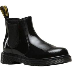 Children's Dr. Martens Banzai Pull On Boot Black Patent Lamper Leather