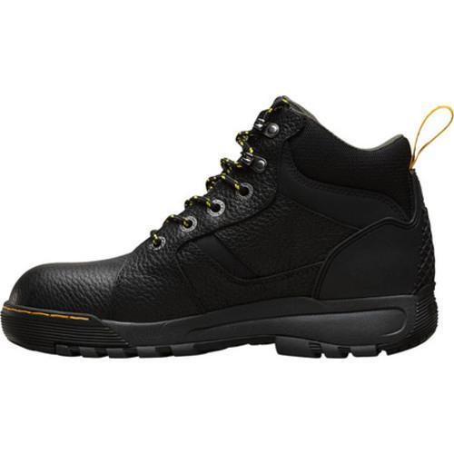 ... Dr. Martens Grapple 6-Tie Steel Toe Boot Black Industrial Bear
