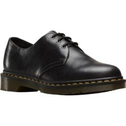 Dr. Martens 1461 3-Eye Shoe Gunmetal Orleans Textured Wavy Leather