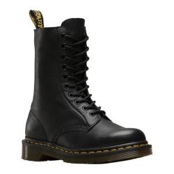Dr. Martens 1490 10-Eyelet Boot Black Virginia Nappa Leather