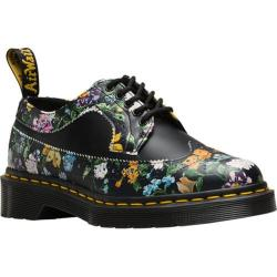 Dr. Martens 3989 5 Eye Brogue Bex Sole Black Darcy Floral Backhand Full Grain Leather