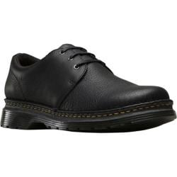 Men's Dr. Martens Hazeldon 3 Tie Shoe Black Grizzly Leather