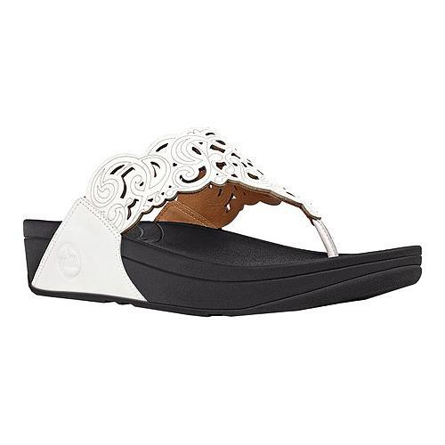 12021173939d Shop Women s FitFlop Flora Urban White - Free Shipping Today ...