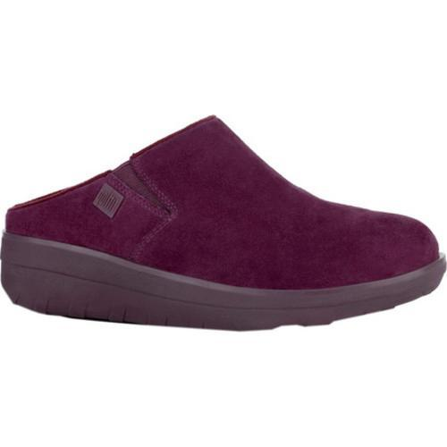 23f63c44ab207 Shop Women s FitFlop Loaff Clog Deep Plum Suede - Free Shipping ...