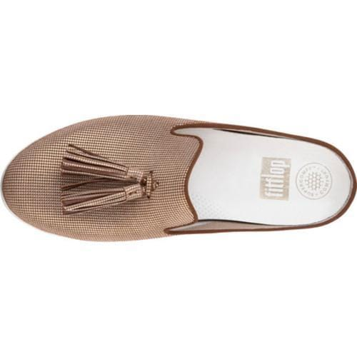 7622a08ceb796d ... Thumbnail Women  x27 s FitFlop Tassel Superskate Mule Pale Gold  Houndstooth Foil Print Suede