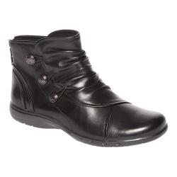 Women's Rockport Cobb Hill Penfield Slouch Boot Black Leather