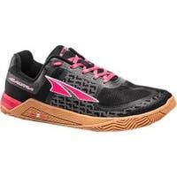 Women's Altra Footwear HIIT XT Cross Training Shoe Black/Red