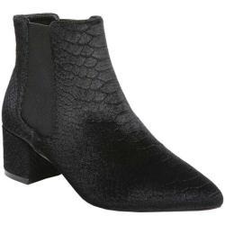Women's Fergie Footwear Sandy Bootie Black Velvet