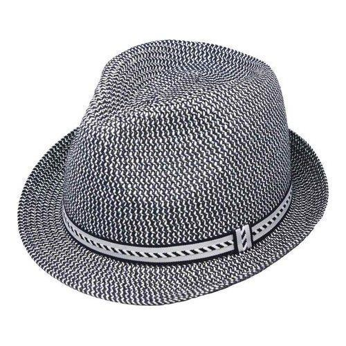 Henschel Fedora 3939 Hat Navy - Free Shipping On Orders Over  45 -  Overstock - 23290119 68891423bab