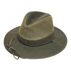 Henschel Aussie Breezer 62984 Fedora Distressed Brown