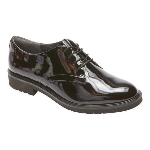 Women's Rockport Total Motion Abelle Oxford Black Patent