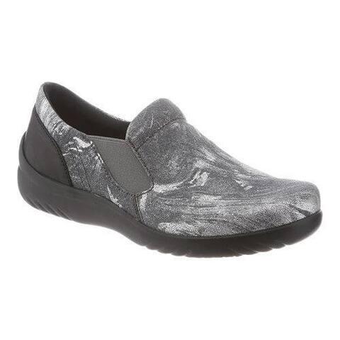 Klogs USA Women's Geneva Clogs Gilded Silver Leather