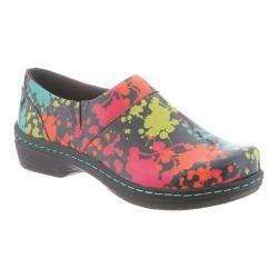 Klogs Mission Womens Shoes Splatter Patent