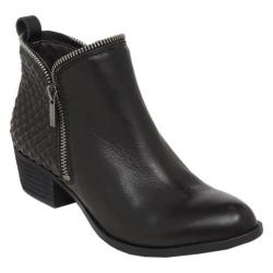 Women's Lucky Brand Bartalino Ankle Boot Black Leather