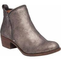 Women's Lucky Brand Bartalino Ankle Boot Pewter Leather