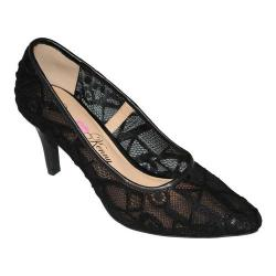 Women's Penny Loves Kenny Union Lace Pump Black Lace