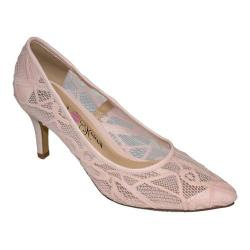 Women's Penny Loves Kenny Union Lace Pump Pink Lace