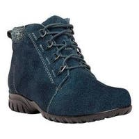 Women's Propet Delaney Boot Navy Suede