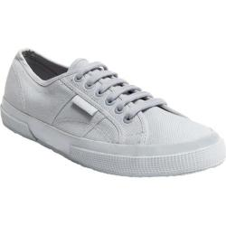 Superga 2750 Classic Total Light Grey Cotton Canvas