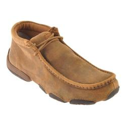 Men's Twisted X Boots MDM0003 Driving Moc Bomber Leather