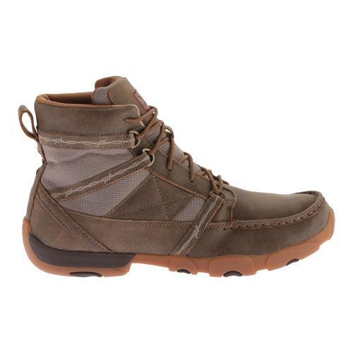... Men's Twisted X Boots MDM0042 Driving Moc Bomber Leather ...