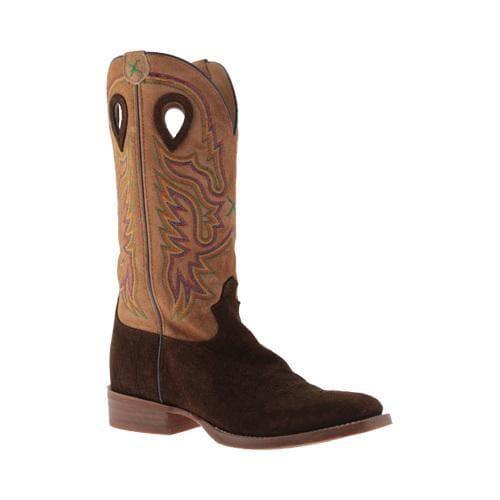 Men's Twisted X Boots MRS0045 Ruffstock Cowboy Boot Tobac Hippo/Tan