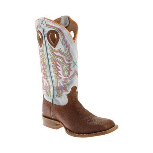Men's Twisted X Boots MRSL029 Gold Buckle Boot Oiled Peanut Bullhide/