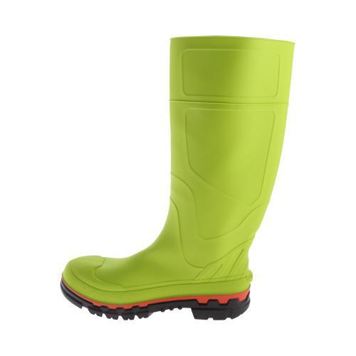 ... Men's Twisted X Boots MWBS001 Steel Toe Mud Boot Lime Green Rubber