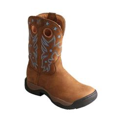 Women's Twisted X Boots WABW001 All Around Boot Distressed Saddle/Saddle Leather