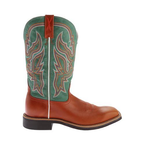 Women's Twisted X Boots WTH0007 Top Hand Cowgirl Boot Cognac/Neon Green  Leather - Free Shipping Today - Overstock.com - 23312813