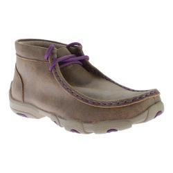 Children's Twisted X Boots YDM0012 Cowkid's Driving Moc Bomber/Purple