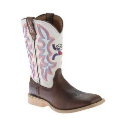 Children's Twisted X Boots YHY0003 Cowkid's Hooey Brown/White (More options available)