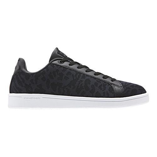 finest selection 15fc8 a38dd ... reduced womenx27s adidas neo cloudfoam advantage clean court shoe core  black core d6af2 9e51a