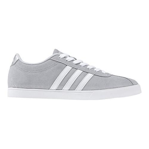 cac6b3d7e1e9 ... good womenx27s adidas neo courtset sneaker clear onix ftwr white silver  8f551 6c23b