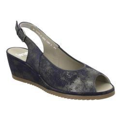 Women's ara Colleen 37120 Blue Caruso Leather