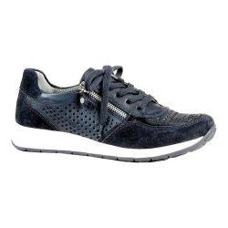 Women's ara Olivia 34556 Sneaker Blue Suede/Calf